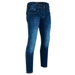Jeans Per Moto Blu Slim...