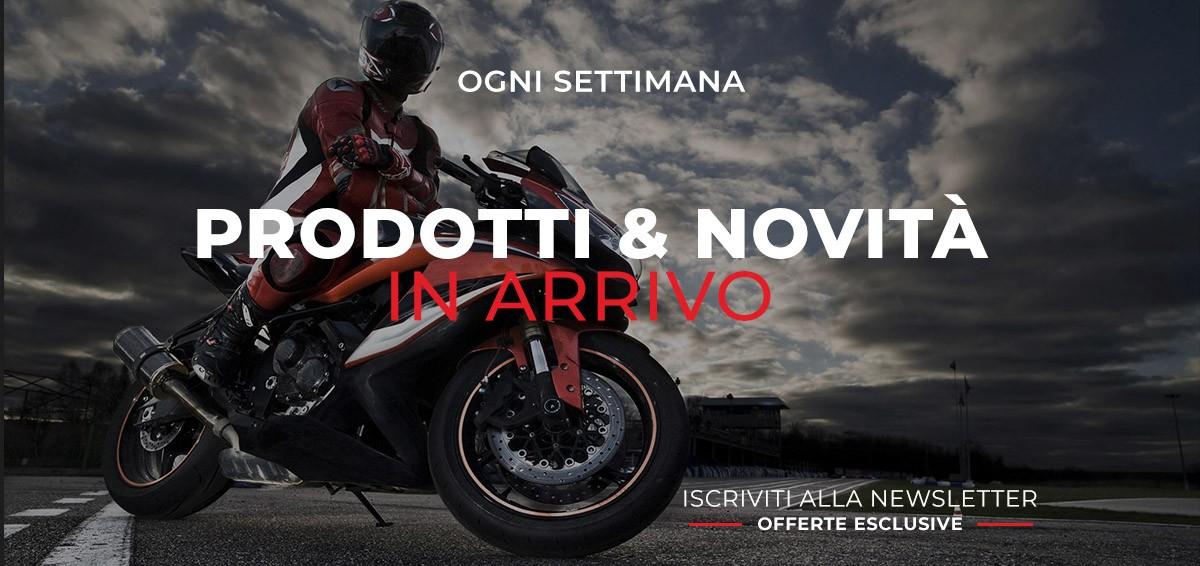 Ogni settimana Biesse Motostore propone novità e offerte su una vasta gamma di prodotti e accessori moto.